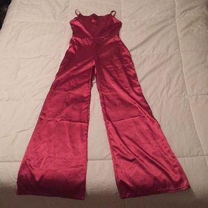 Metallic Hot Pink jumper from Nasty Gal brand new